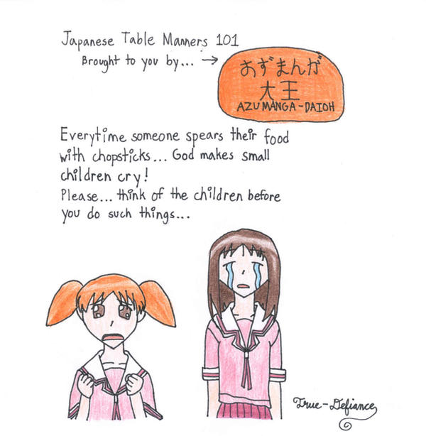 japanese table manners by kajyu
