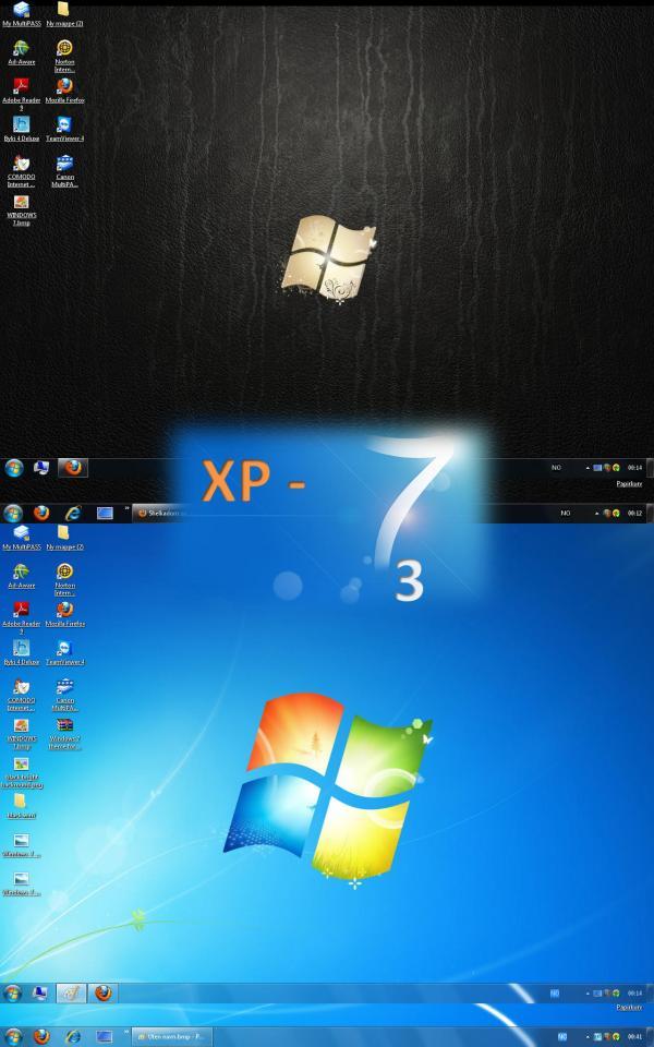 Windows 7 Themes Xp Shelkadom Deviantart
