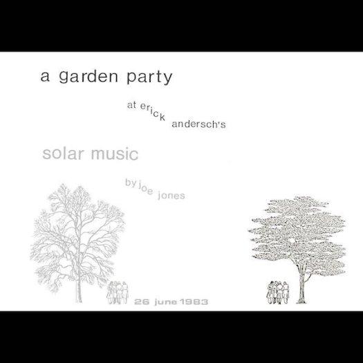 JOE JONES / A Garden Party (LP+Book)