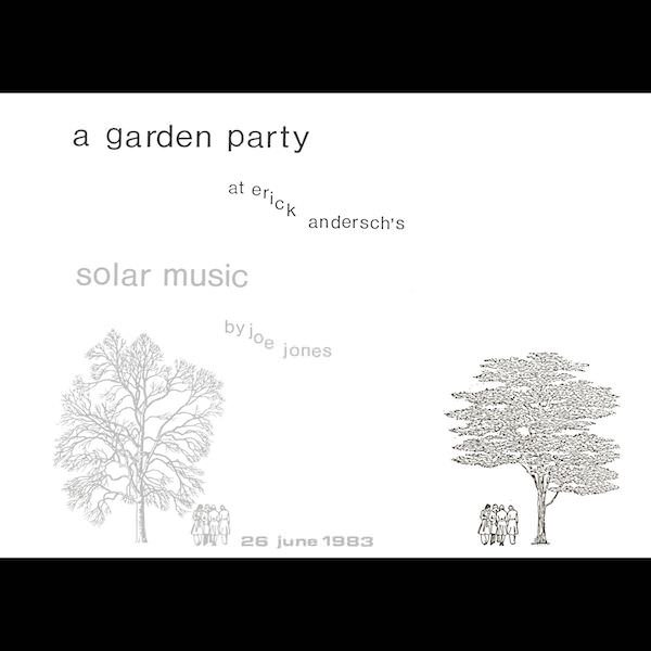 JOE JONES / A Garden Party (LP+Book)