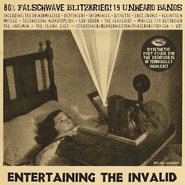 MATT WAND / Entertaining The Invalid: 80% Falschwave Blitzkrieg! (CD)