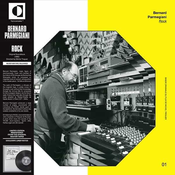 BERNARD PARMEGIANI / Rock (LP)