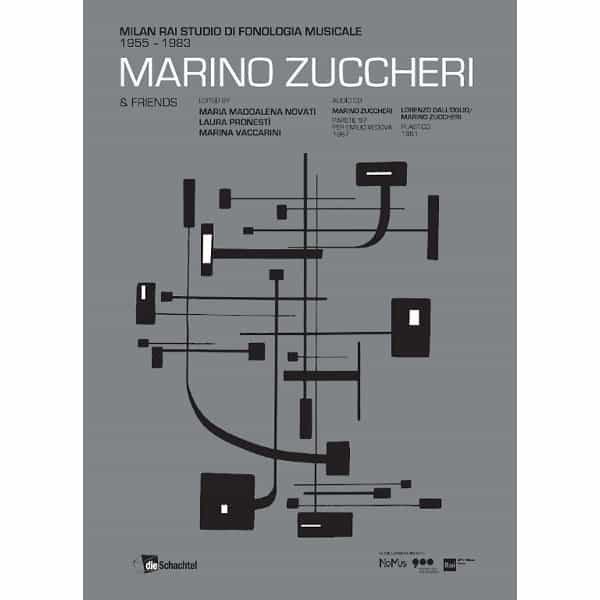 MARINO ZUCCHERI / Milan Rai Studio di Fonologia Musicale 1955-83 (CD+Book)