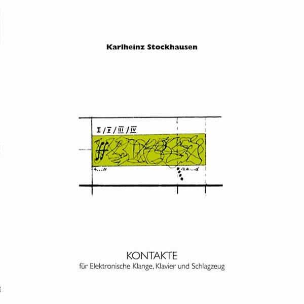 KARLHEINZ STOCKHAUSEN / Kontakte (LP)