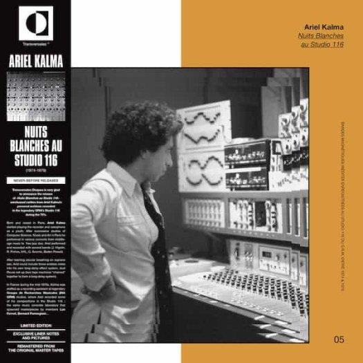 ARIEL KALMA / Nuits Blanches Au Studio 116 (LP)