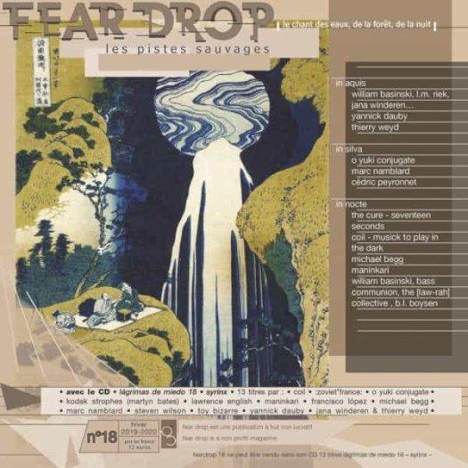 FEAR DROP - N°18, Les Pistes Sauvages - Le chant des eaux, de la foret, de la nuit (Magazine + CD)