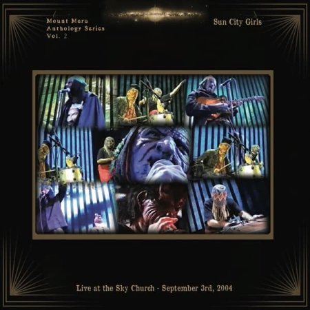 SUN CITY GIRLS / Live at the Sky Church - September 3rd, 2004 (LP+DVD)