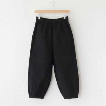 Atelier d'antan | アトリエダンタン - PARROT COTTON PANTS #BLACK [A232131PP085]