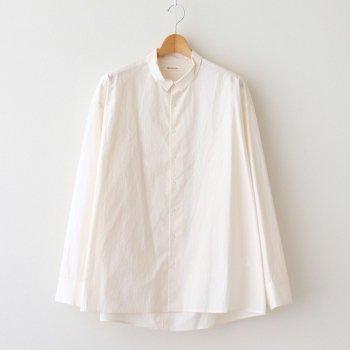 susuri   ススリ _ コーバスシャツ #SHELL PINK [21-306]