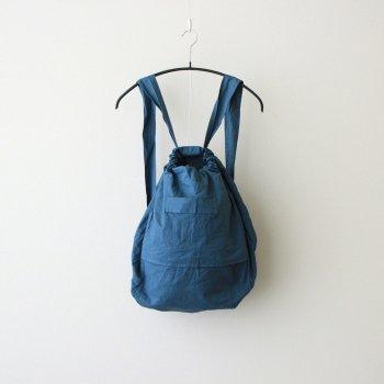 R&D.M.Co- OLDMAN'S TAILOR | オールドマンズテーラー _ GARMENT DYE DAY BAG #BLUE GRAY [no.4930]