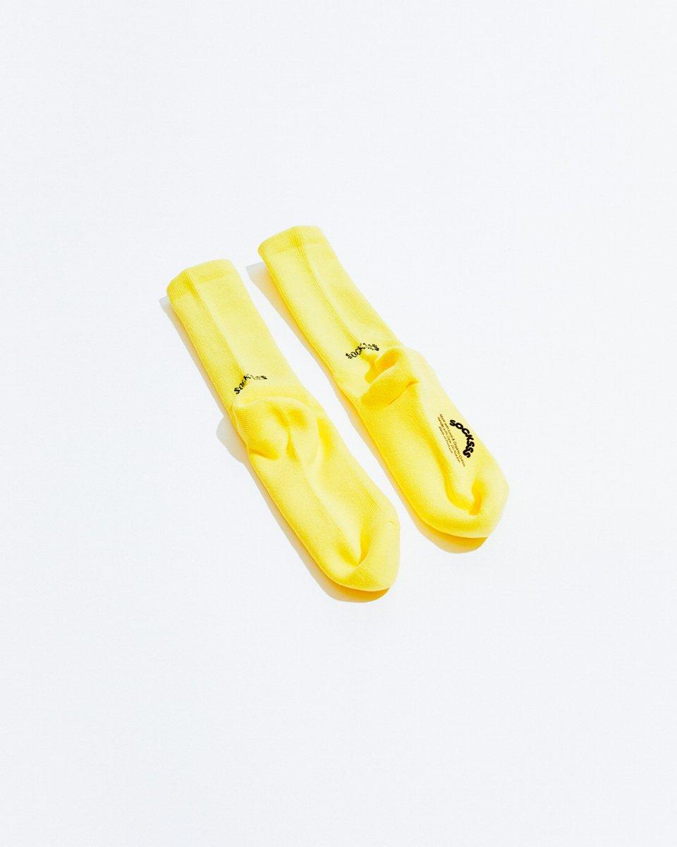 ソックス 黄色の写真