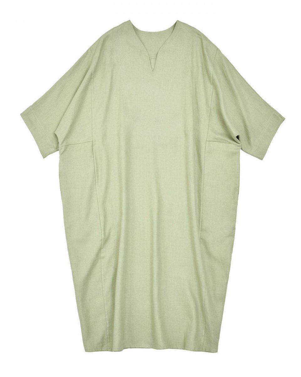 WRYHT リネンオーバーサイズドレス