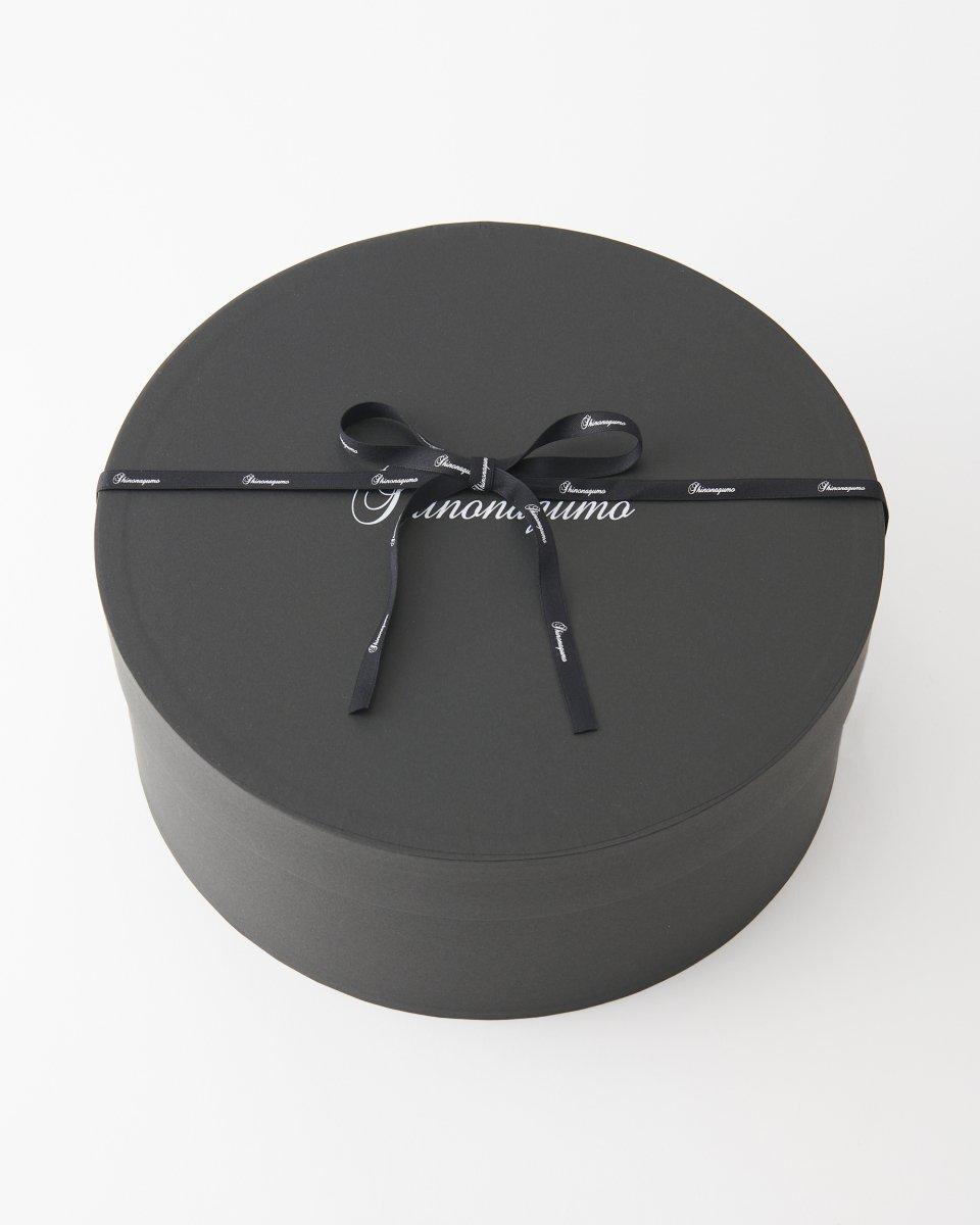 Shinonagumo ベレー帽 黒の写真
