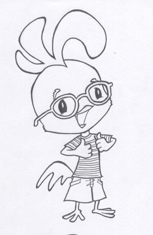 Chicken Little by gedatsu-kitteh on DeviantArt