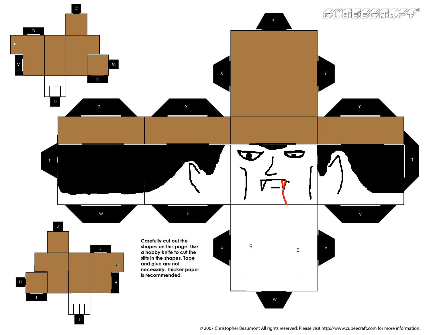 Count Dracula Cubeecraft By Bobtheegg On Deviantart