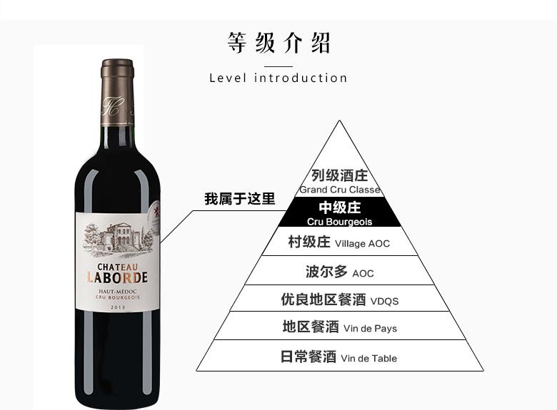 法國紅酒法國(中級莊)拉貝德城堡干紅葡萄酒750ml【價格 品牌 圖片 評論】-酒仙網