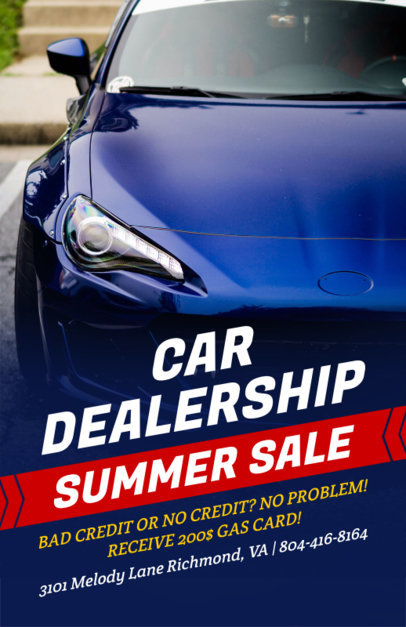 placeit auto repair flyer