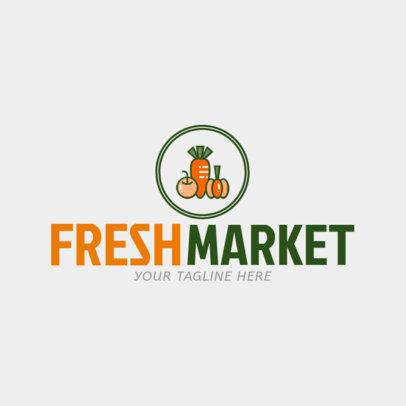 organic products logo maker