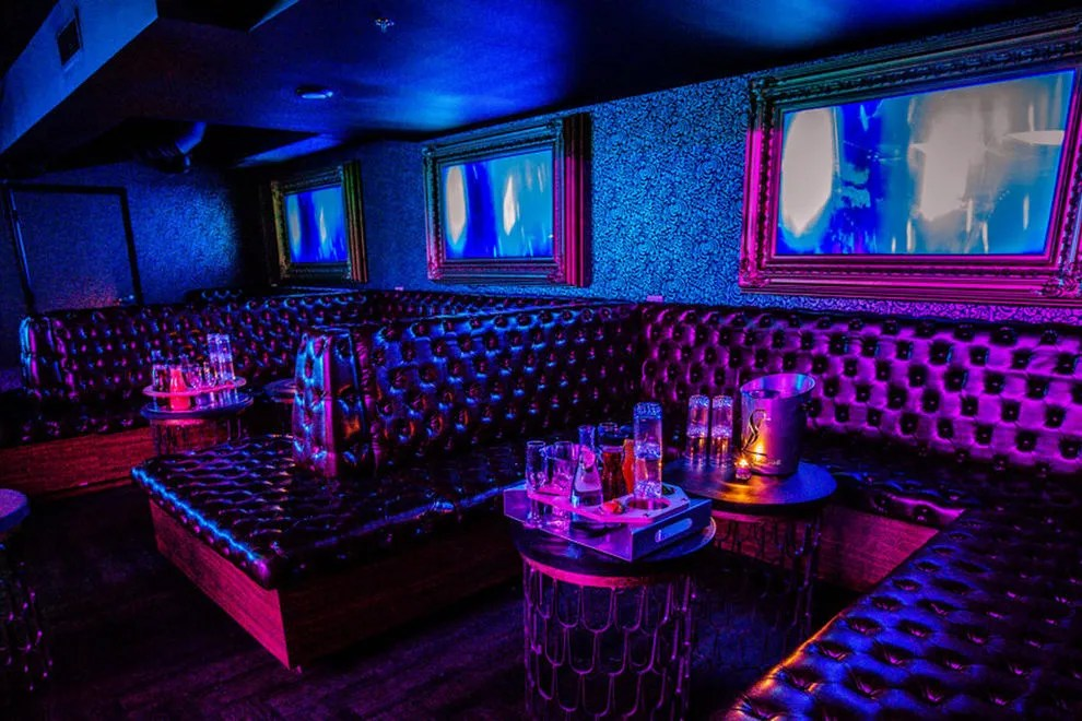 Weed Girl Out Door Wallpaper Stereo Lounge At Nativ Hotel Denver Nightlife Review