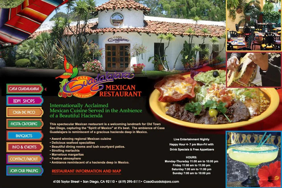 Casa Guadalajara San Diego Restaurants Review  10Best Experts and Tourist Reviews