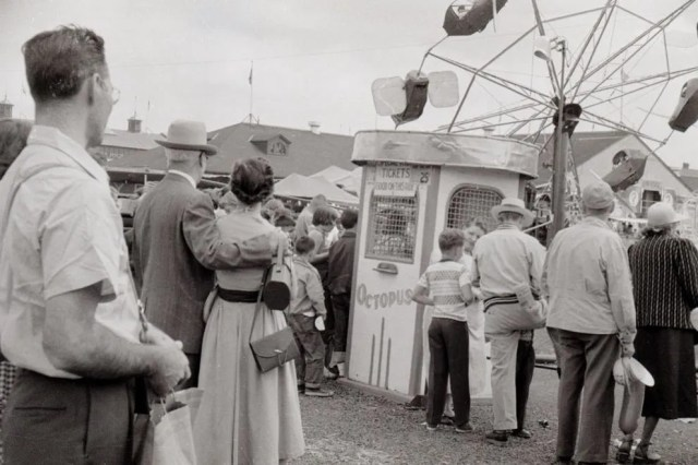 Great New York State Fair in 1954