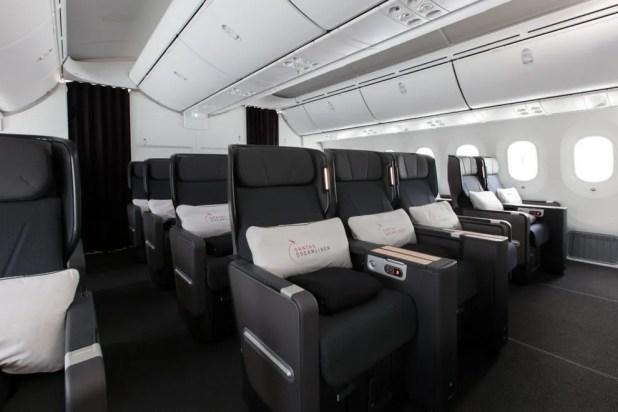 Qantas Premium Economy designed by David Caon