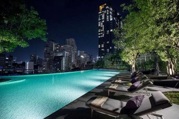 You could be lounging poolside in Bangkok