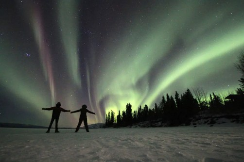 How to see the northern lights in the majestic Yukon