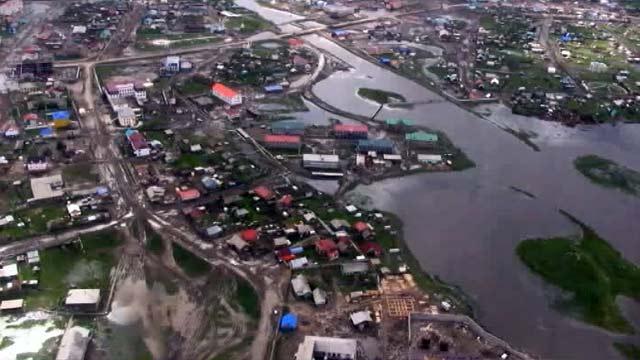Камчатский и Хабаровский края, Якутия и Амурская область переживают пик дождевого паводка