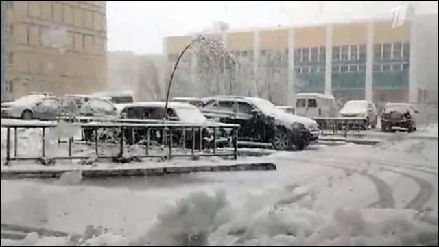 Температурный рекорд в Надыме