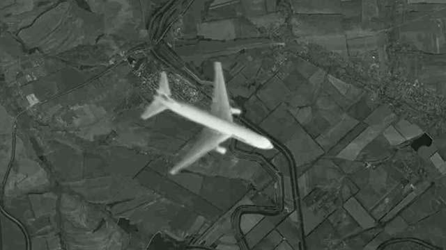 Immagini satellitari abbattimento volo MH17