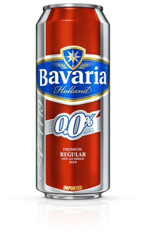 BAVARIA 0.0% NON ALCOHOLIC BEER 500ML X 24 TINS PER CASE ...