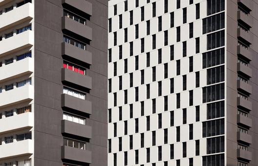 Conjunto Habitacional Jardim Edite / MMBB + HF. Image © Nelson Kon
