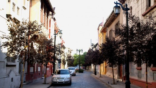 Barrio Yungay, Santiago. © Plataforma Urbana
