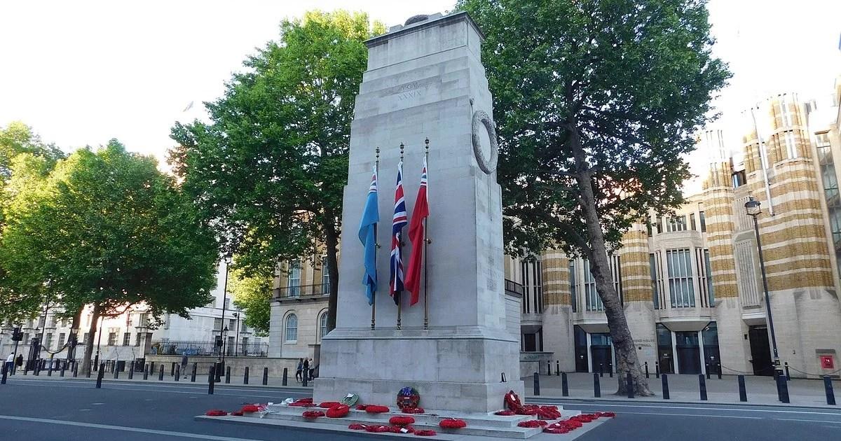 和平紀念碑 (香港)在倫敦