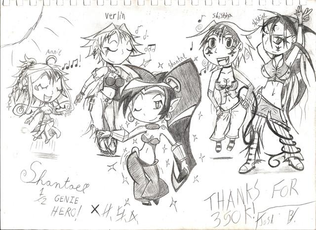 Dancer Shantae