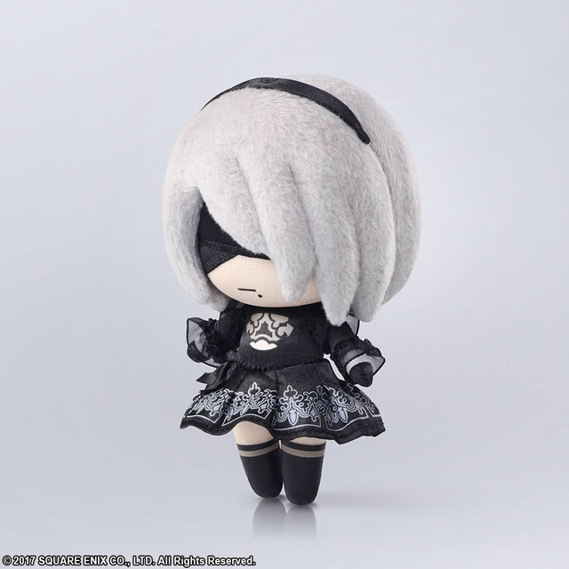 Ancient Chinese Girl Wallpaper Crunchyroll 2b Becomes Smol For Quot Nier Automata Quot Mini Plush