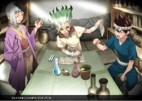 Resultado de imagen para dr.stone gen y chrome manga