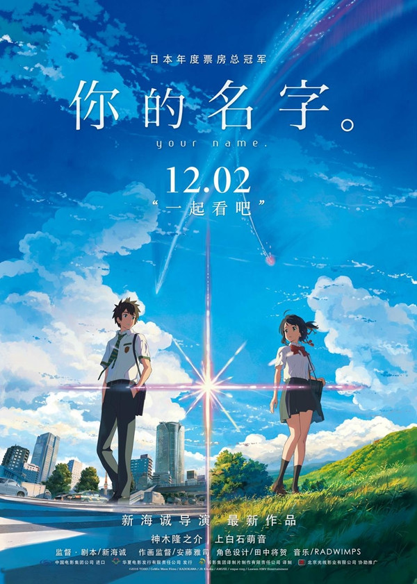 your name china