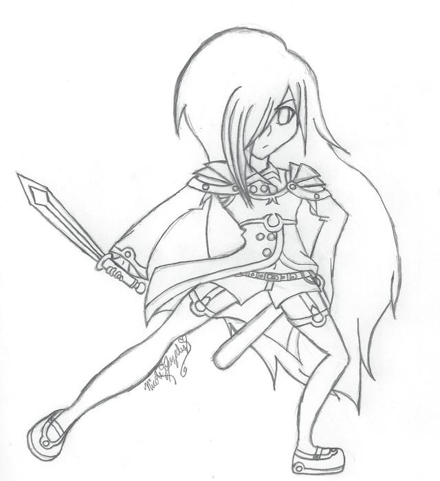 Dark Light Sword
