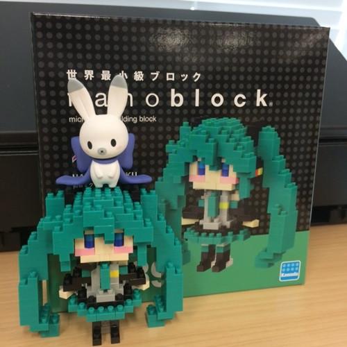 Crunchyroll Make Your Own 8 Bit 3D Hatsune Miku With Nanoblock