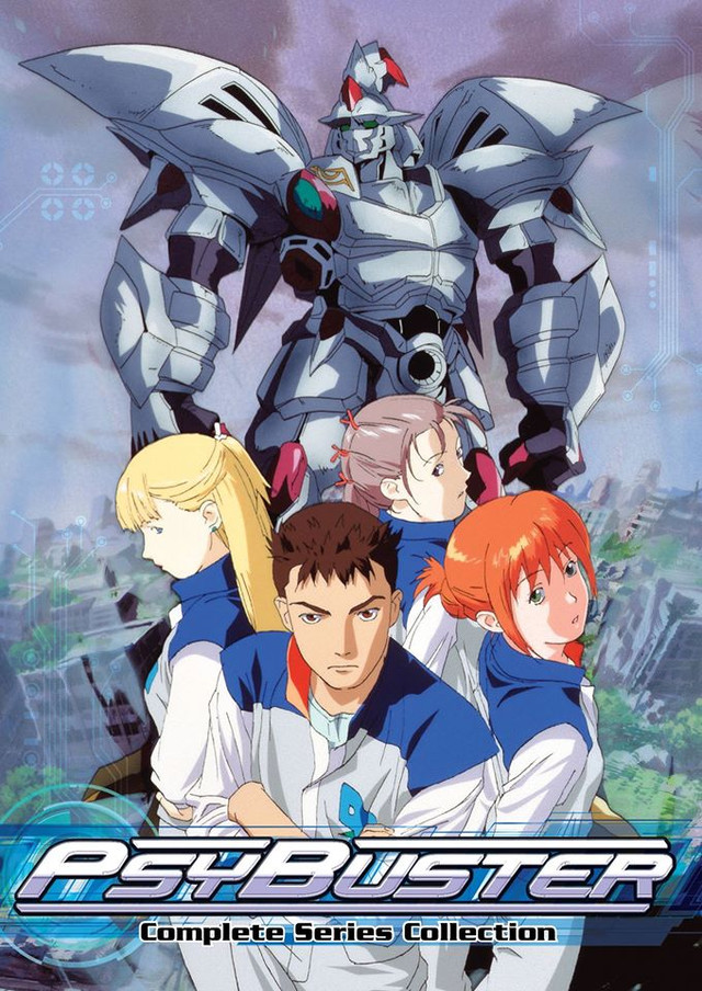 Mech Girl Wallpaper Crunchyroll Discotek Announces Quot Psybuster Quot And Quot Dancouga