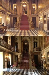 entrance hall castle chatsworth einzbern painted night england fate comparison crunchyroll between comments stay fixed edit link