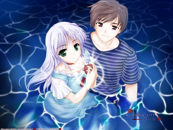 Crescent Love Anime Image