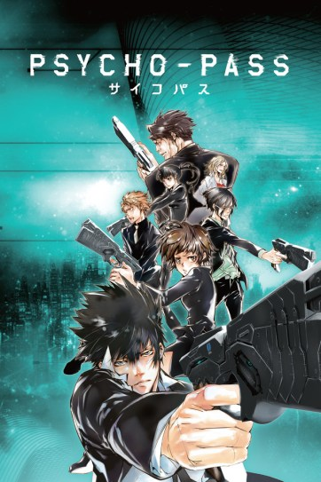 Psycho Pass anime review promo art
