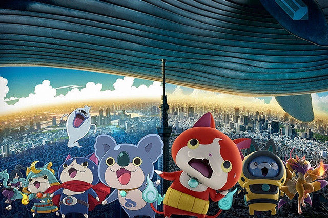 Image result for Youkai Watch Movie 3: Sora Tobu Kujira to Double no Sekai no Daibouken da Nyan!