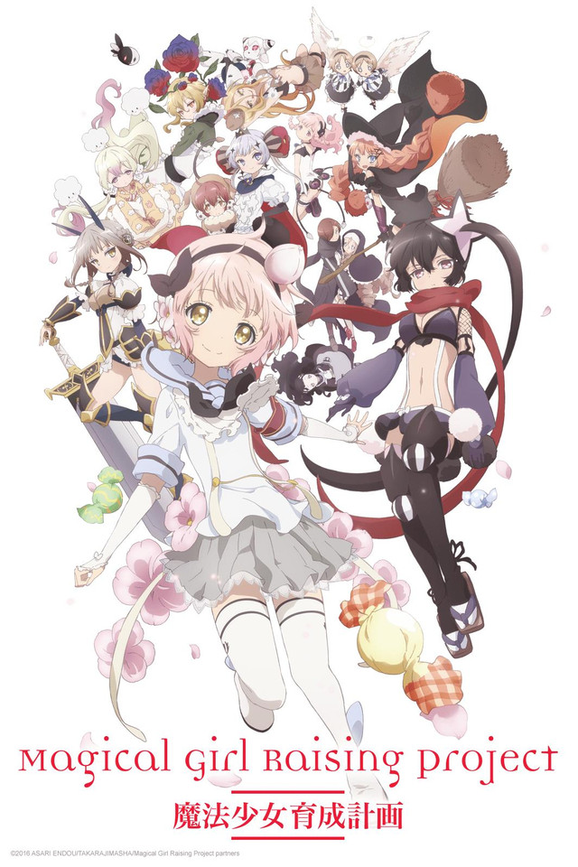 Image result for magical girl raising project