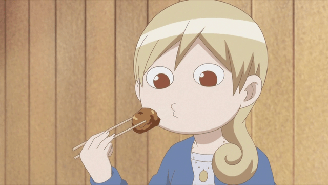 Image result for eating food anime