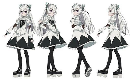 Crunchyroll  Coffin Princess Chaika Anime Principal