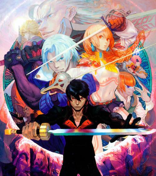Crunchyroll  Gainax Presents Capcom Character Designer Tatsuya Yoshikawas Take on FLCL